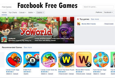 Access Facebook Free Games – How to Play Facebook Free Games