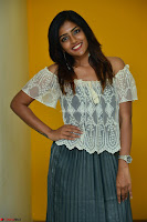 Eesha in a cute deep neck top and Skirt at at Big FM 116.JPG