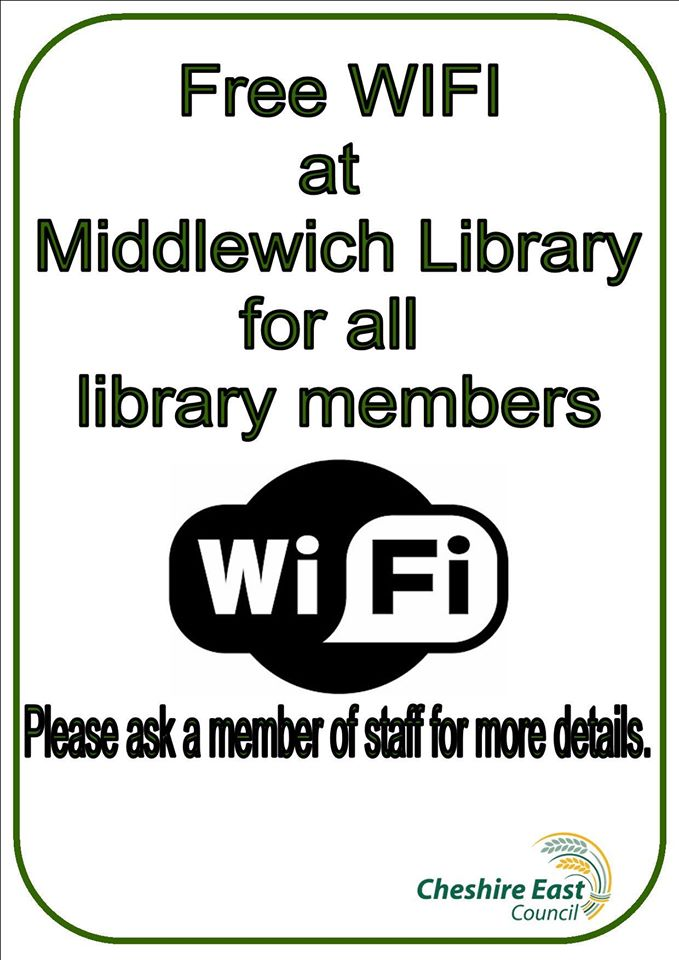 ANOTHER GOOD REASON TO JOIN THE LIBRARY!