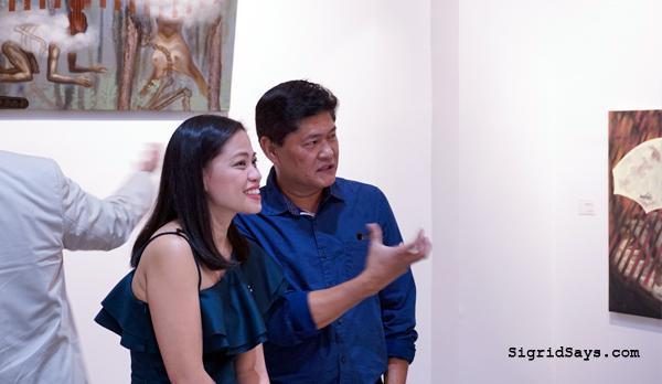 Filipino artist Jeho Bitancor - solo art exhibit - ILOMOCA - Iloilo