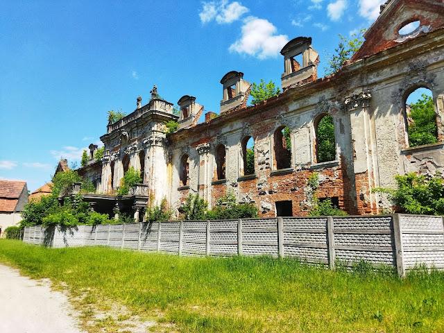 Goszcz, zamek, ruiny, wycieczki po dolnym śląsku