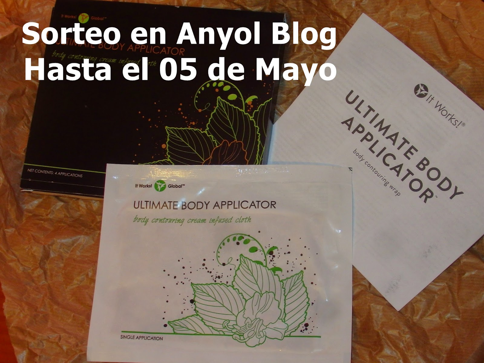 Ganadora del Sorteo de un Ultimate Body Applicator. Un Parche Reductor
