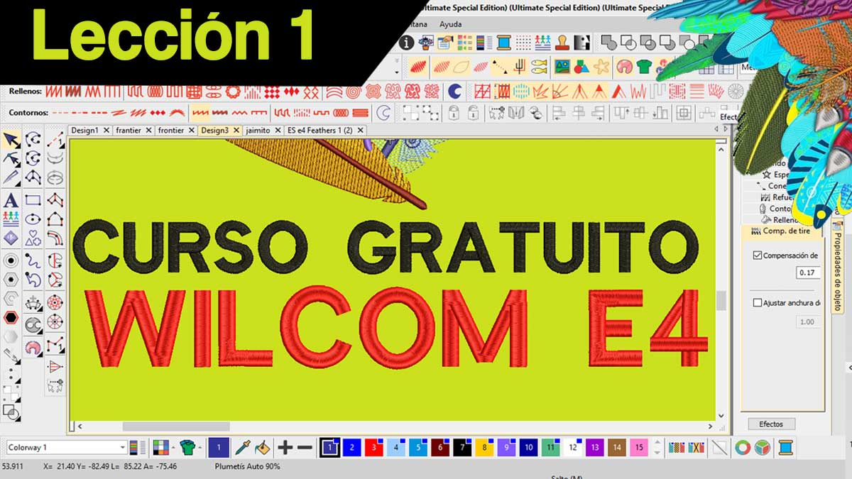 WILCOM EMBROIDERY STUDIO e4 CURSO GRATIS