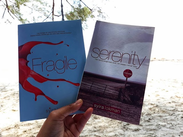 Serenity and Fragile by Syira Lokman.