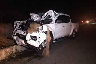 Quatro pessoas morrem em acidente envolvendo caminhonete e carroça na Paraíba