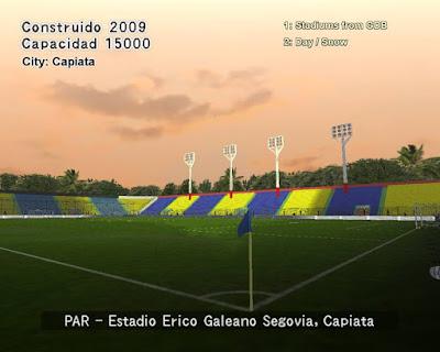 PES 6 Stadiums Erico Galeano Segovia by World Stadiums PES6