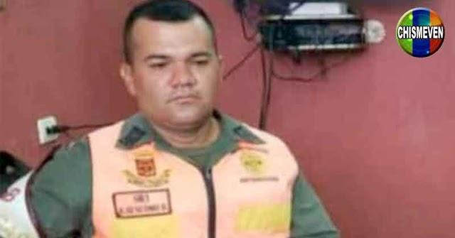 Funcionario rojo de la GNB fue estrangulado en Santa Rita