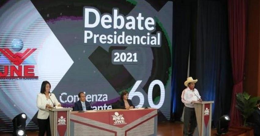 KEIKO FUJIMORI Vs. PEDRO CASTILLO: ¿Quién ganó el Debate Presidencial - Resultados Encuesta hoy Domingo 30 Mayo 2021? [VIDEO]