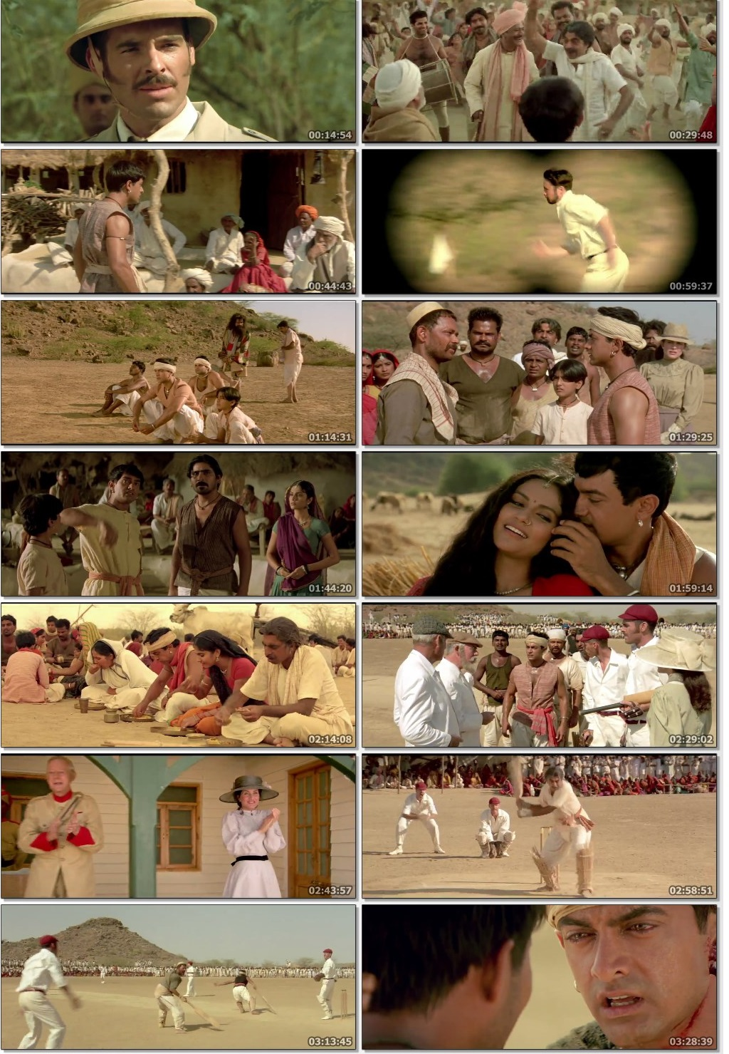 Download Lagaan: Once Upon a Time in India (2001) Hindi Movie Bluray