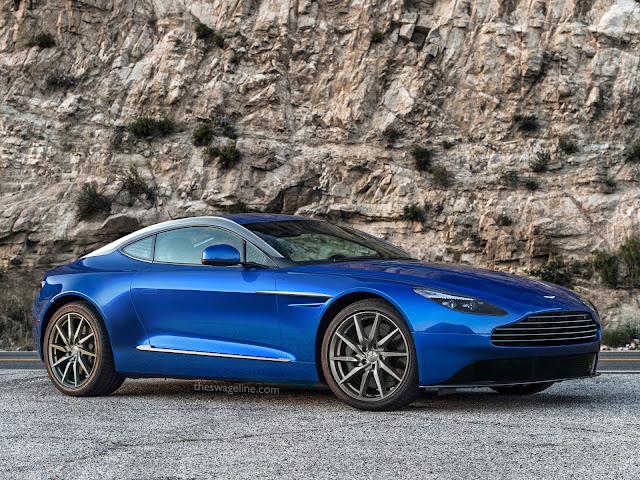 Speculative rendering of Aston Martin V8 Vantage