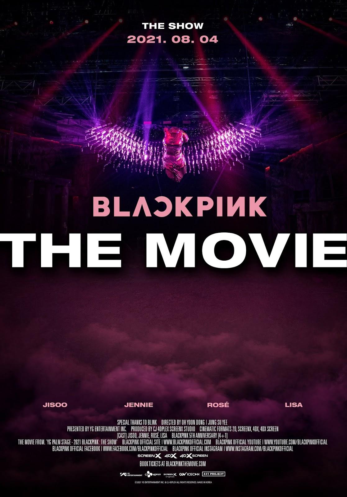 BLACKPINK The Movie, la película de BLACKPINK de K-Pop del 2021