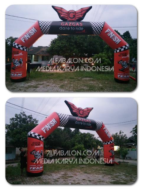 Balon Gate custom Gaz Gas Dore to ride