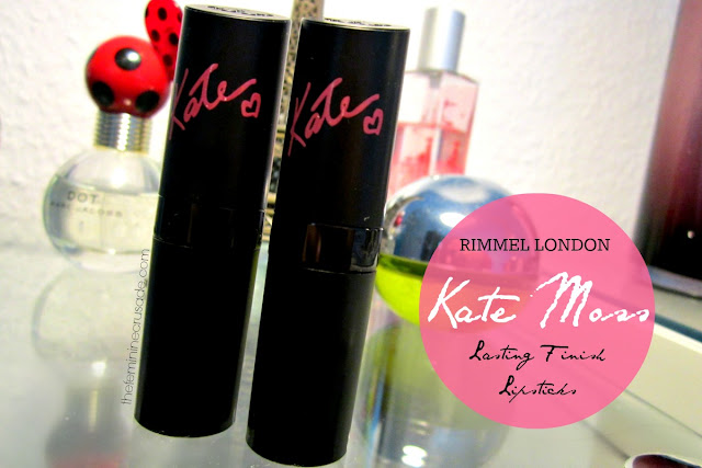 Rimmel London Lasting Finish Lipsticks by Kate Moss