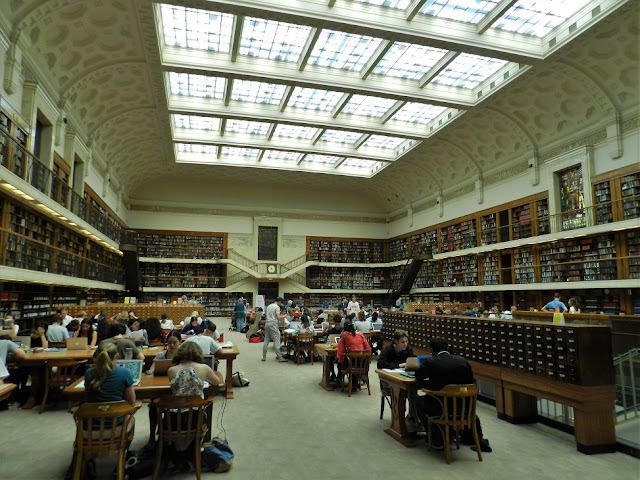 State Library of New South Wales reading room