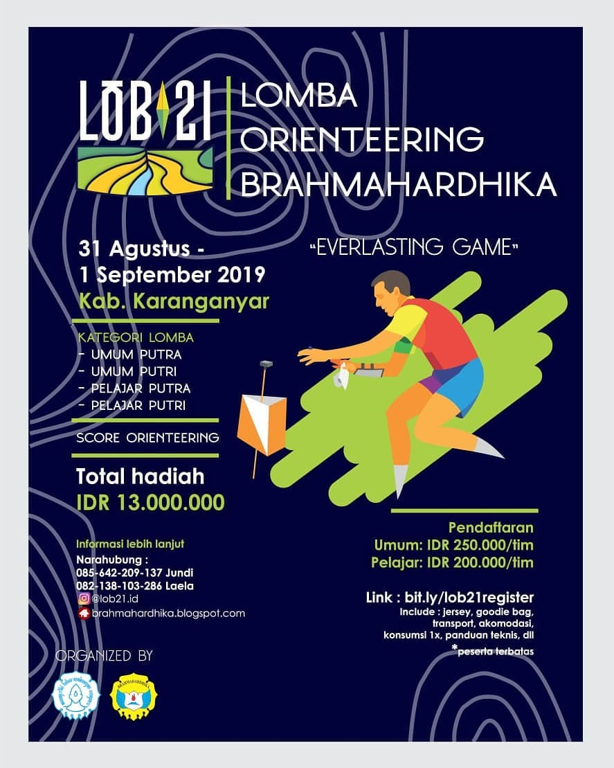 Lomba Orienteering Brahmahardhika • 2019