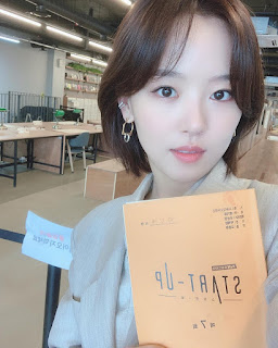 Akun Instagram Kang Hanna pemeran won in jae Start-Up