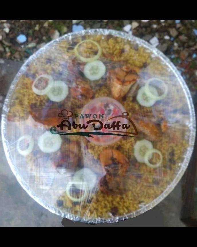 Jual Nasi Kebuli Nampan SerBu (Seratus Ribu) Pawon Abu Daffa