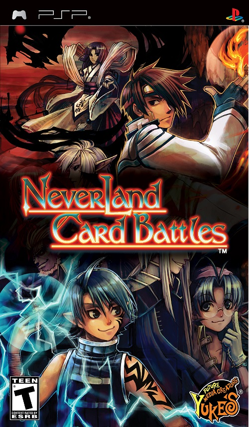 Neverland Card Battles - PSP - ISO Download