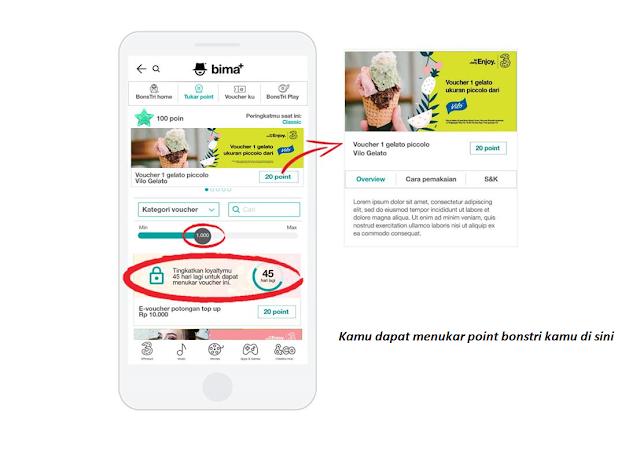 cara menukar poin bonstri dengan paket internet