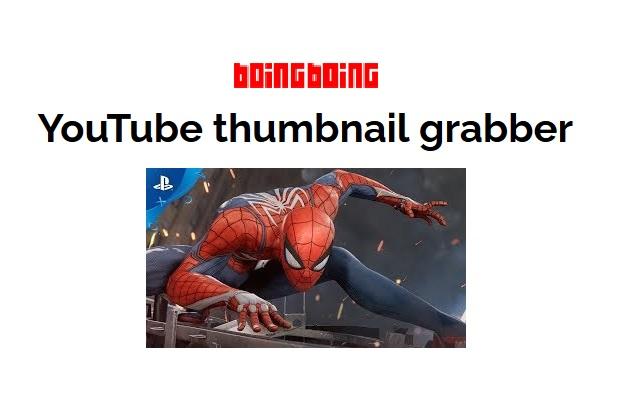 boing boing youtube thumbnail extractor grabber