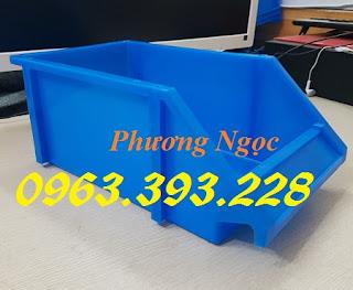 Kệ dụng cụ A8, khay linh kiện vát đầu, khay nhựa giá rẻ, hộp nhựa cơ khí