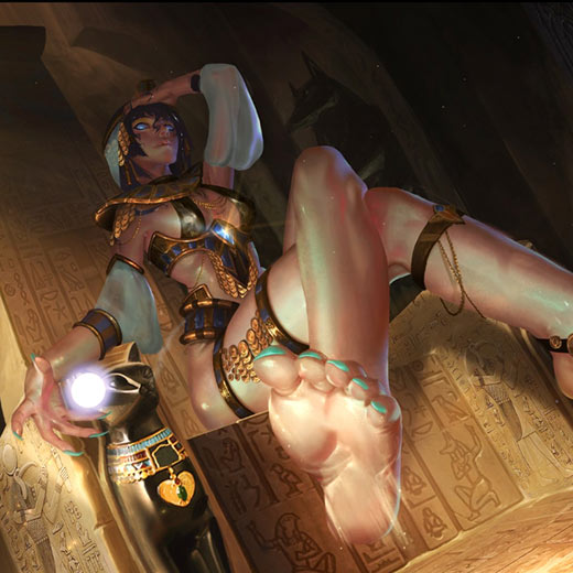 Egypth Queen Wallpaper Engine