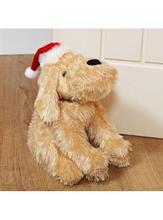 Soft Christmas Dog Doorstop