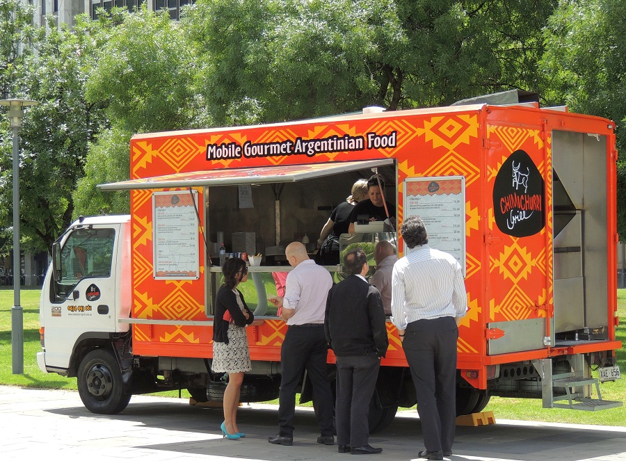 Pick And Roll Food Truck