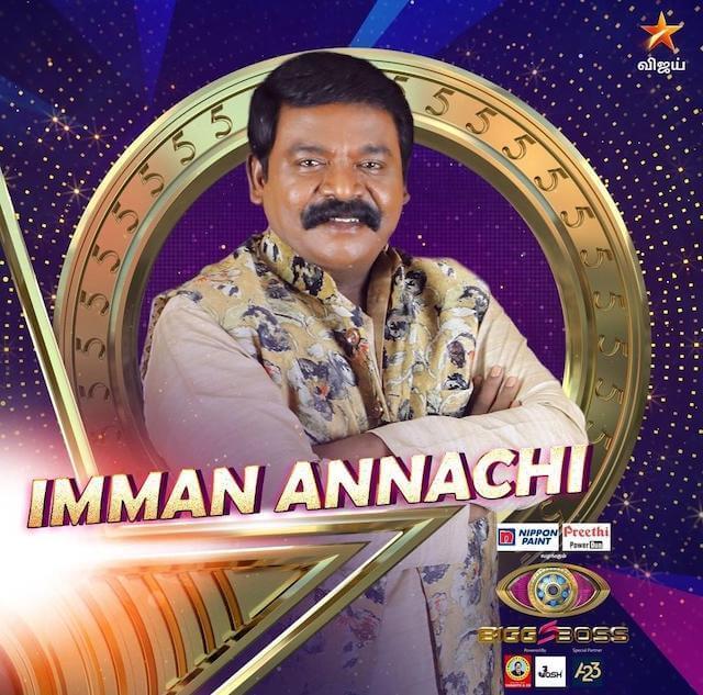 Imman Annachi (Anchor, Actor)