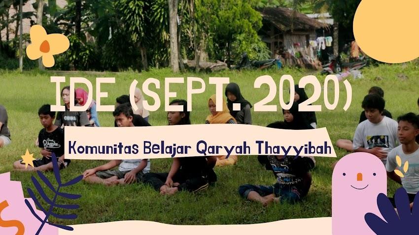 Ide September 2020: Pilkadanya daring aja deh!