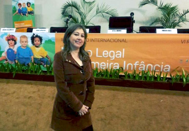 Ginna Torrez, vicepresidenta de la Red Parlamentaria por la Niñez y la Adolescencia / RRSS