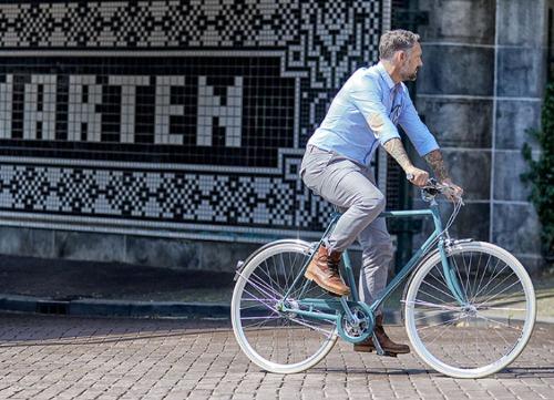 Gazelle Van Stael retro lifestyle fiets