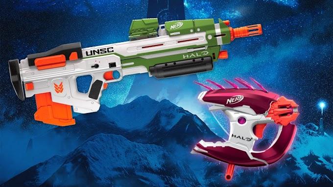 La saga Halo, tendrá sus propios Blaster Nerf