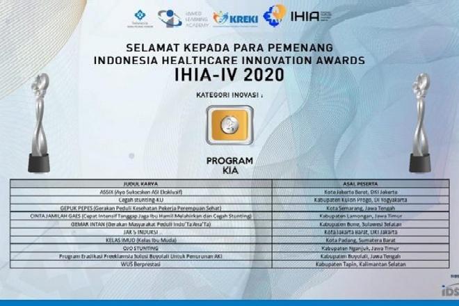 Selamat! Bone Terpilih Sebagai 10 Finalis IHIA-IV Tahun 2020