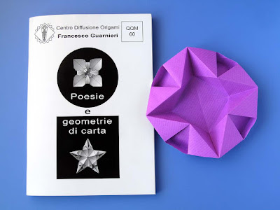 Origami, Booklet QQM 60 and Piatto per Natale - Dish for Christmas by Francesco Guarnieri