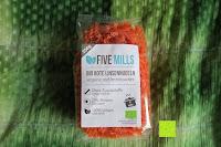 Erfahrungsbericht: Linsennudeln BIO (1x250g) aus 100% Linsenmehl 250g mit 23% Protein vegan und glutenfrei von Five-Mills.de für Muskelwachstum und Muskelerhalt - Eiweißnudeln geeignet als Fleischersatz und Supplementersatz low fat