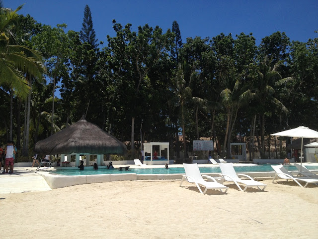 Swimming pool at Pacific Cebu Resort Team Building Venue in Lapulapu City Mactan Island Cebu Philippines