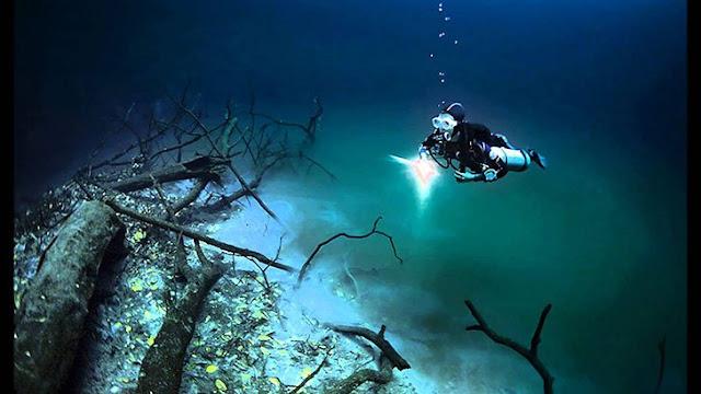 penemuan sungai di dalam laut