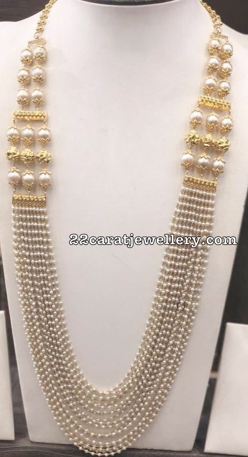 Pearls and Beads Grand Haram Designs