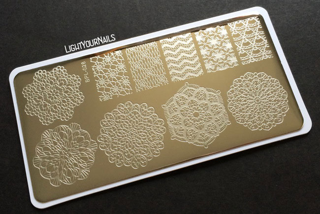 Stamping plate BPL-028 at BornPrettyStore