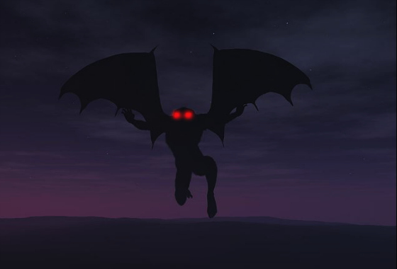 Witnesses Describe 'Mothman' Abilities and 'Bat-Like' Appearance