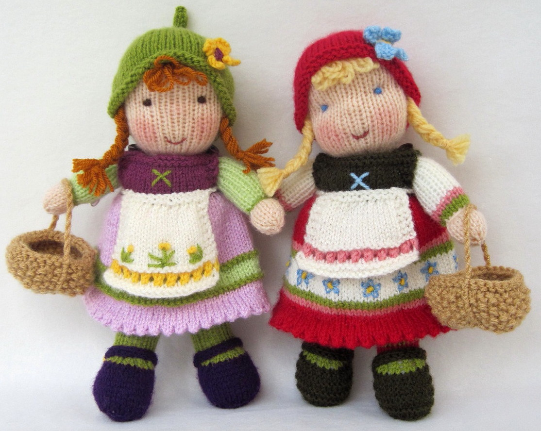 Flutterby Patch: Fern and Flora - new dolls