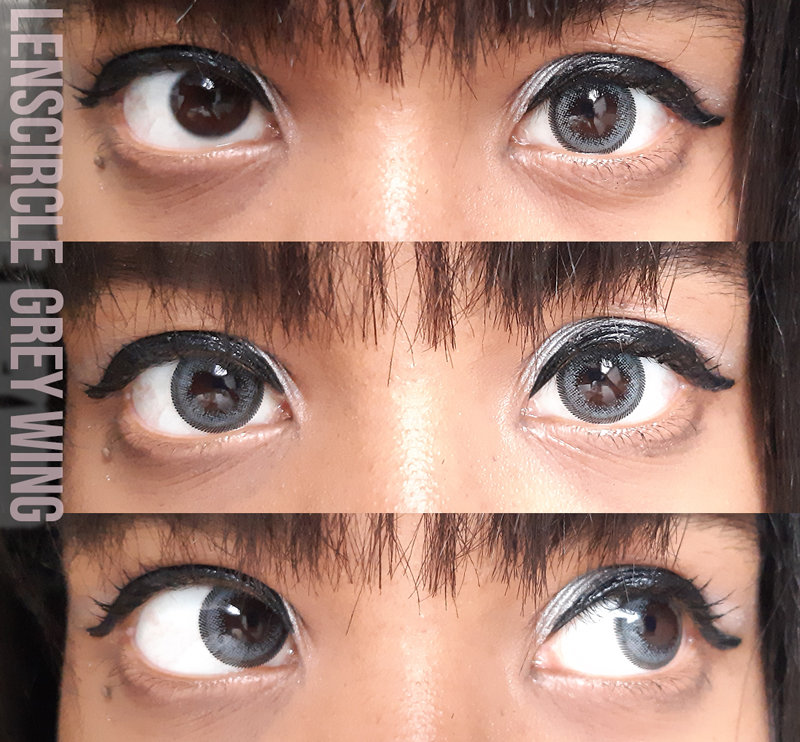 Circle lens Grey Wing Review