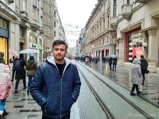 İstiklal Caddesi, İstanbul, Beyoğlu | Harun İstenci - Ocak 2020