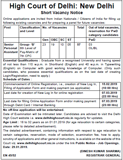 Sarkari job 2019 in hindi