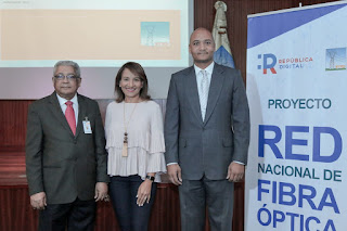 "Empresa de Transmisión Eléctrica Dominicana (ETED )presenta Red Nacional de Fibra Óptica"""