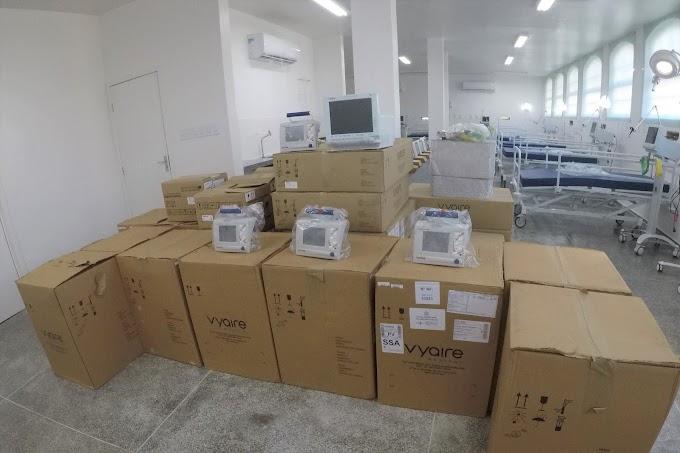 Luciano da Locar anuncia a chegada de equipamentos para a UTI no Hospital Regional