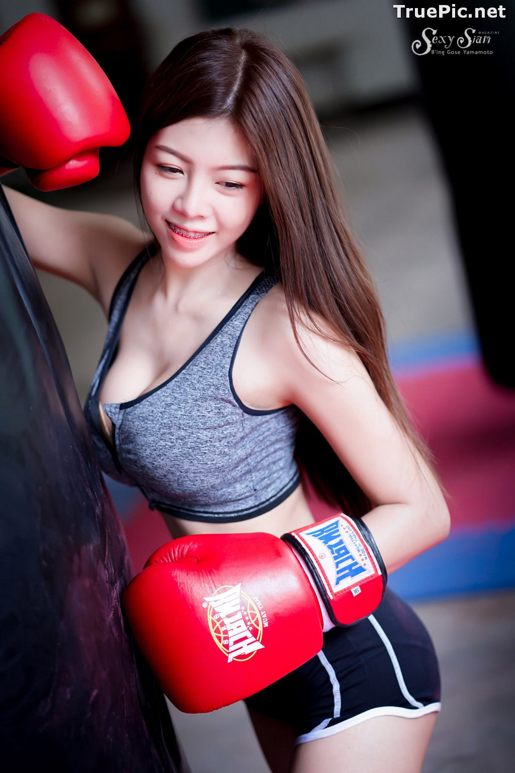 Image Thailand Model - Yotaka Suriya - Sexy Boxing Girl - TruePic.net - Picture-10