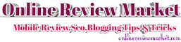 Online Review Market - Entertainment & Tech Review