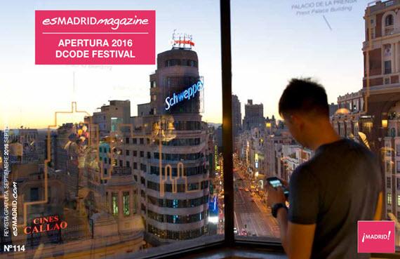 Agenda septiembre 2016. Revista oficial de Turismo de la Ciudad de Madrid